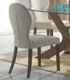 Possible dining chair. Amazon.com: Coaster Dining Room San Vicente Upholstered Dining Side Chair (set of 2): Home & Kitchen