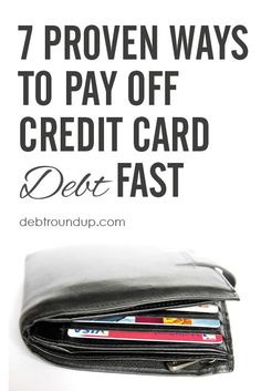 Five years ago, we were able to pay off the last of our credit card debt. Use these 7 Easy Steps to CRUSH your credit card debt fast! Good Credit Score, Best Credit Cards, Paying Off Credit Cards, Best Money Saving Tips, Debt Payoff, Debt Free, Easy, Online Marketing, Internet Marketing