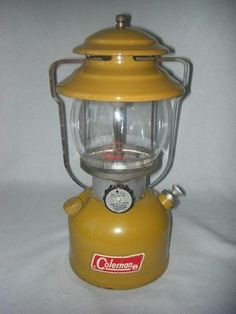 RARE Vintage Gold Bond Coleman Lantern 200A 5 1972 Goldenrod All Original | eBay
