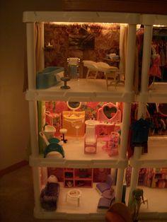 Barbie Store Plastic Shelving Units, Barbie Store, Plastic Shelves