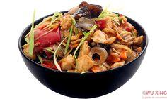 Pui pe plită încinsă (sare-piper-usturoi) Japchae, Ethnic Recipes, Food, Essen, Meals, Yemek, Eten