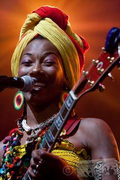 Fatoumata Diawara tijdens North Sea Jazz (foto: Ronald Rijntjes)