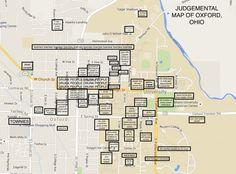 Oxford University Campus Map.315 Best Miami University Oxford Ohio Images University Of Miami