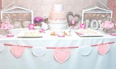 Pink Love Party via- Amy Atlas and Sweet Little Party