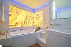 Onyx Bathroom in Montecarlo - by studiodonizelli