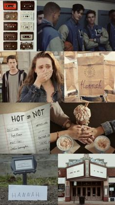 Wallpaper Hannah 13 reasons  why