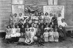 Fayette County, Cedar,Texas  O'Quinn School, 1911-1912