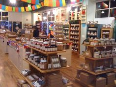 retail displays | Rustic Wood Retail Store Product Display Fixtures & Shelving - Home