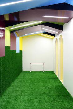 Kalorias - Children's Space,Courtesy of estúdio AMATAM