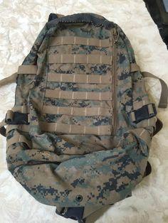 USGI APB03 Assault Pack Gen 1 MARPAT Coyote Tan w Black Accents Used Surplus | eBay