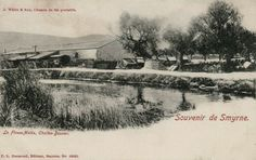 Selection of railway related postcard and images connected to the Smyrna - Aidin railway