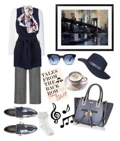 """""""BOOK+COFFEE=PLEASURE!!!!"""" by kskafida on Polyvore featuring Emporio Armani, M.Patmos, Miss Selfridge, Palomitas by Paloma Barceló, Monsoon, River Island, Marc by Marc Jacobs, Topshop, women's clothing and women"""