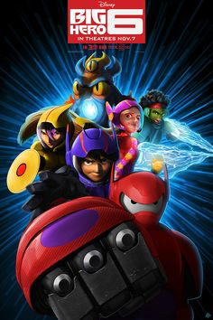 Watch Free Big Hero 6 : Full Length Movie The Special Bond That Develops Between Plus-sized Inflatable Robot Baymax, And Prodigy Hiro Hamada,. Baymax, Kid Movies, Disney Movies, Disney Crossovers, Movie Tv, Big Hero 6 2, Big Hero 6 Film, Disney Art, Disney Pixar