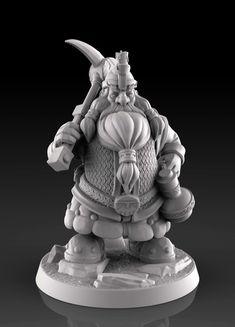 Dwarf miner 3d print