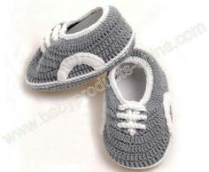 Baby shoes with laces look.