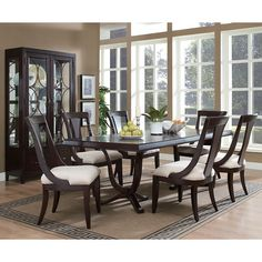 Plaza Square Dining Room Set Pulaski Furniture 510-ddr-set | Furniture Cart