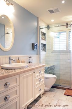 salle_de_bain_champe_tre_1_ Bathroom Redo, Townhouse Bathroom, Bathrooms Remodel, Remodel, New Homes, Bathroom Renos, Home Decor, Bathroom Design, Deco