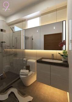 Hdb modern scandinavian blk 169b punggol field for Bathroom cabinets singapore