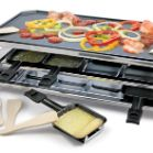 Swissmar 8 Person Stainless Steel Raclette Party Grill with Reversible Cast Aluminum Non-Stick Grill Plate Raclette Recipes, Raclette Party, Grilling Recipes, Raclette Ideas, Lunch Recipes, Grill Stone, Grill Machine, Grilled Desserts