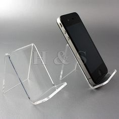 10xTop Quality Acrylic Mobile Phone Stand Holder ... good for small display items