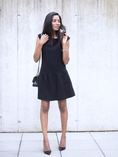 Little Black Dress, Chanel and Christian Louboutin Pigalle