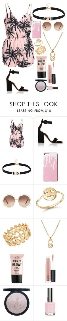 """I'm back"" by bibblesforgabi ❤ liked on Polyvore featuring NLY Trend, Gianvito Rossi, Chloé, Bing Bang, INC International Concepts, NYX, MAC Cosmetics and Topshop"