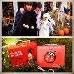 Joyeux Halloween tout l'monde! N'oubliez pas les petites boîtes rouges! #halloween #cancer @leucan #montreal #quebec #mommyblogger