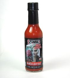 Check out our review of PuckerButt Pepper Company's iZombie hot sauce! HOT! http://www.zombiegift.com/zombie-blog/2015/04/22/zombie-hot-sauce-review-izombie-hot-sauce-from-puckerbutt-pepper-company/