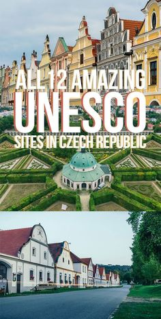 Czech Republic UNESCO Sites You Can't Miss - All 12 UNESCO World Heritage Sites in the Czech Republic that you have to check out for yourselves! Europe Travel Tips, European Travel, Travel Guides, Travel Destinations, Czech Republic Destinations, Budget Travel, Prague Travel, By Train, Bratislava
