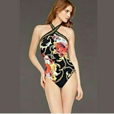 NWT size 8 OR 12 Gottex Onepiece swimsuit Let me know which size you would  like This brand new suit never worn is the definition of classy and sexy at the same time. Quality suit. Swim One Pieces