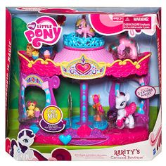 MLP Rarity's Carousel Boutique Rarity Brushable Figure