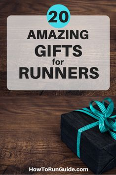 "Clever and practical gifts to impress your runner friend for birthdays, holidays, or ""just because"". #running #gifts  The best gifts for runners, right in one handy post."