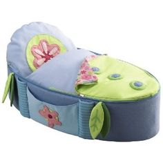 Doll cot that matches her shape sorter