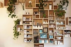 Box units #shopping #space #davines
