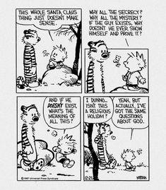 Calvin and Hobbes #calvinandhobbes #xmas #emoterror #thisisnthappiness