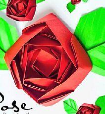 Kawasaki Rose új moduláris origami hajtogatás módszer _ Kawasaki Rose, hogyan kell csinálni