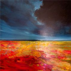 The Letting Go Oil on canvas 92cm x 92cm Art Eye Gallery Sold