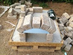 How to Make a Homemade Pizza Oven: 8 Steps (with Pictures) Diy Pizza Oven, Pizza Oven Outdoor, Pizza Ovens, Outdoor Garden Furniture, Outdoor Decor, Small Pizza, Building A Barn Door, Wood Fired Pizza, Outdoor Projects