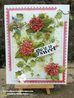 So Sweet - Garden Notes Hydrangea card by Shalini Pahwa