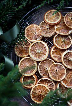 DIY Try to dry -  Christmas oranges  / Trendenser.se