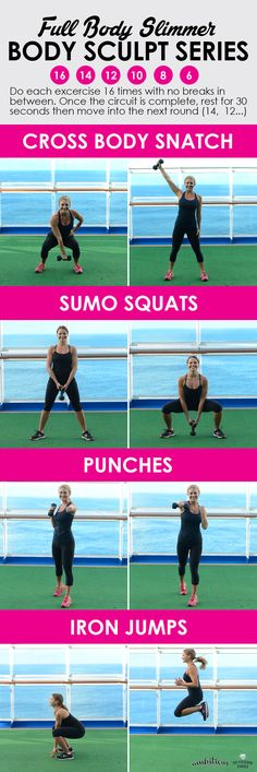 Full Body 30 minute Body Slimming Workout #workout #inspriation
