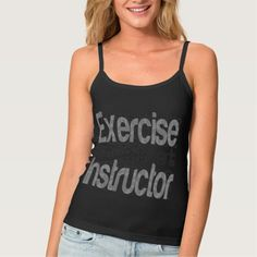 Exercise Instructor Extraordinaire Spaghetti Strap Tank Top Tank Tops