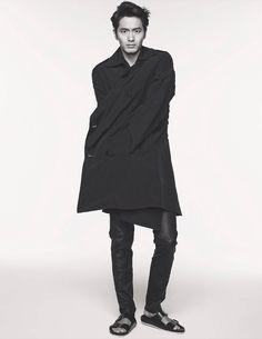 Lee Jin Wook in Elle Korea May 2014
