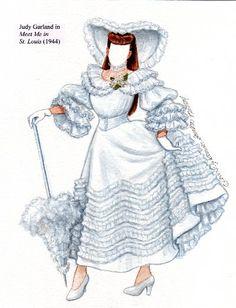 """My Favourite Musicals: Judy Garland in """"Meet Me in St. Louis"""" (1944) / Brenda Sneathen Mattox"""