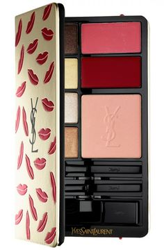 Deena's Picks: Yves Saint Laurent Kiss & Love Edition Complete Make-Up Palette Ysl Beauty, Beauty Makeup, Eye Makeup, Beauty Tips, Beauty Hacks, Make Up Palette, Mac Eyeshadow, Eyeshadow Palette, Ysl Cosmetics