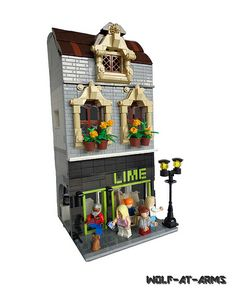 Old House by Lego-Man-at-arms on Flickr