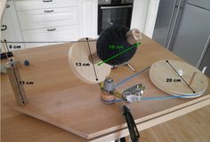 I have received requests to post specifications and some steps in making the Yarn Ball Winder ( see the first post about it here) Now fo...