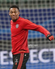 <a gi-track='captionPersonalityLinkClicked' href='/galleries/personality/9197434' ng-click='$event.stopPropagation()'>Anthony Martial</a> of Manchester United in action during a first team training session on the eve of their UEFA Champions League match against Wolfsburg on December 7, 2015 in Wolfsburg, Germany.