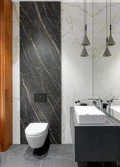 Interior Design Using Orange & Blue: Tips To Help You Decorate Using Complementary Colors - Marble Bathroom Decor Washroom Design, Toilet Design, Bathroom Design Luxury, Modern Bathroom Design, Minimal Bathroom, Luxury Bathrooms, Master Bathrooms, Small Bathrooms, Bath Design