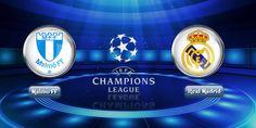 Champions League Real Madrid vs  Malmoe